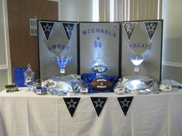 Dallas Cowboy Candy Buffet Expressions Etc Pinterest