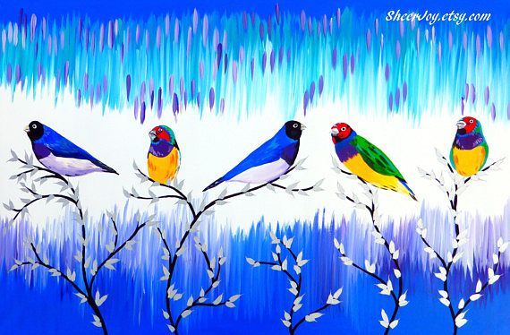 finch present finch finches gifts from australia art