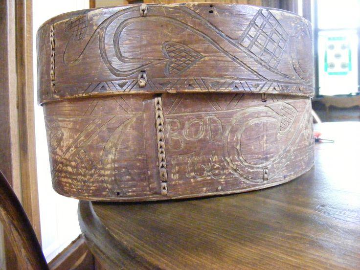 Old Hat Box Hillsboro North Dakota Historical Society