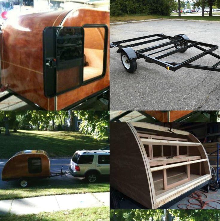 Teardrop Trailer Kit 8 Cubby : Best ideas about utility trailer on pinterest