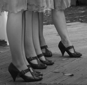 Twenties shoes  Cinturino a T