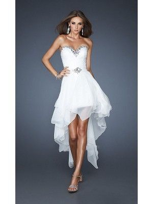Vestidos princesa / Formato A Sem Mangas Missangas Cetim Elástico …   – Braut