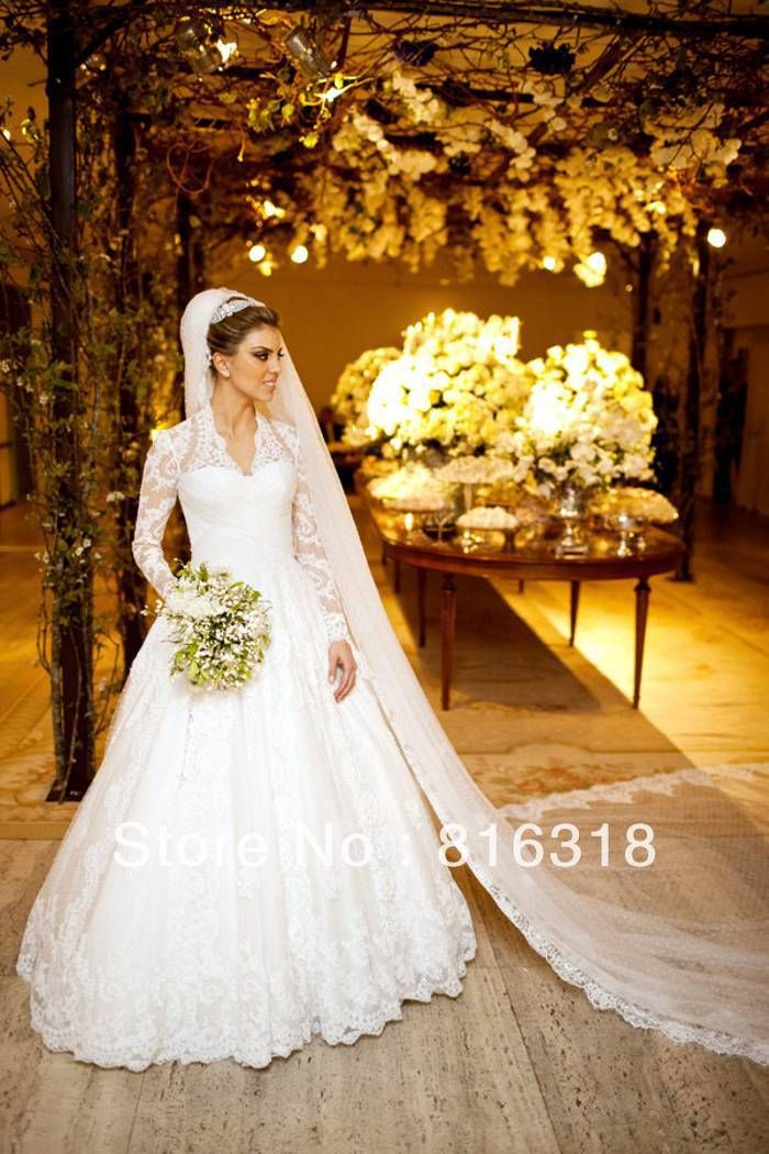 short retro wedding dresses uk%0A Vestido De Noiva      Sexy Plus Size Wedding Dresses With Sleeves Vintage  Lace Long Sleeve Wedding