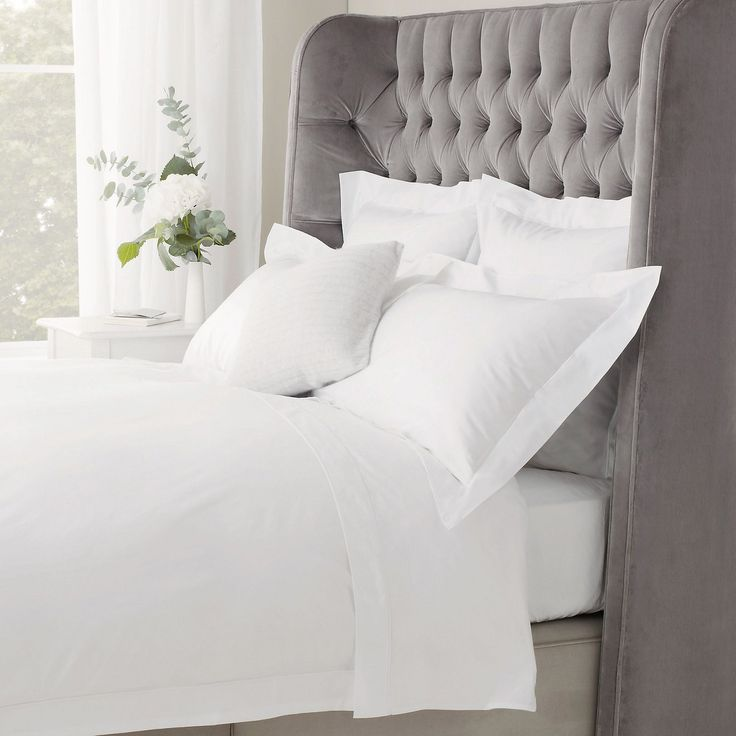 600 Thread Count Egyptian Cotton Bed Linen | Bed Linen | Sale | The White Company UK