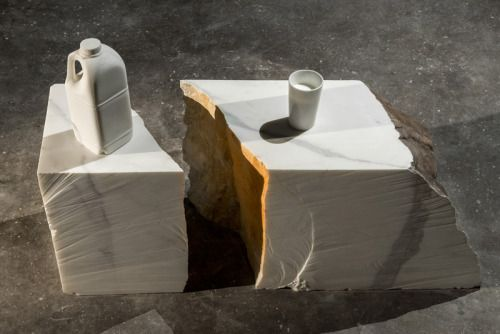 Marble Sculptures by Alex Seton