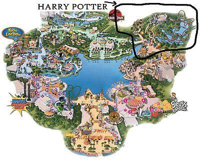 harry potter orlando florida mapa net deals image results