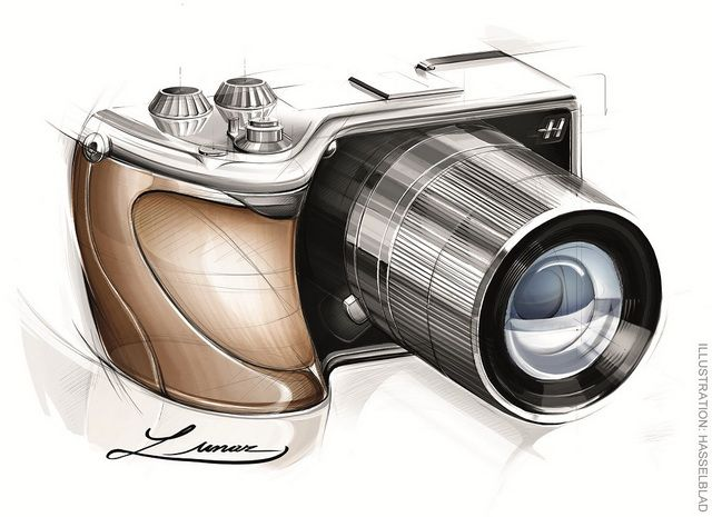 hasselblad with sony camera #id #product #sketch