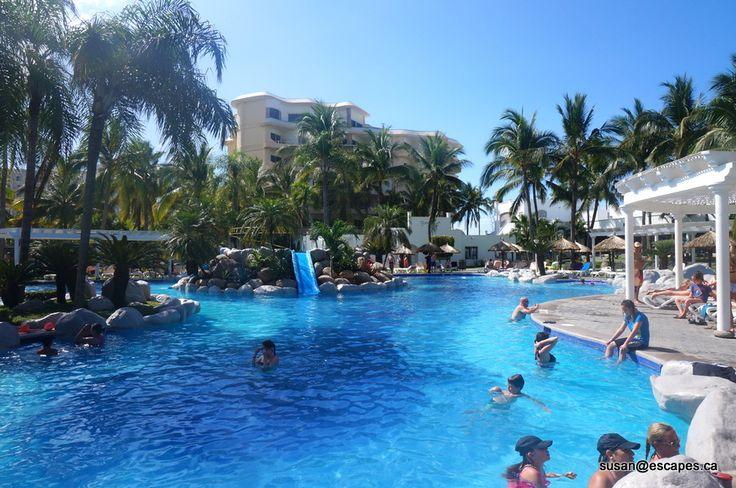 Riu Jalisco, in Puerto Vallarta, kids pool and water slide