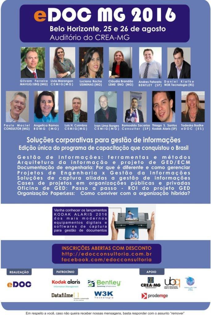 EDOC MG 2016 AGENDE-SE flyer com Palestrantes