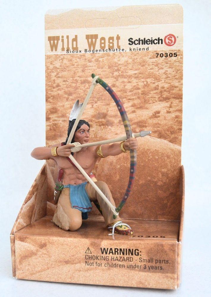 Schleich 70305 - Sioux Archer Crouching - Wild West - American Frontier - New