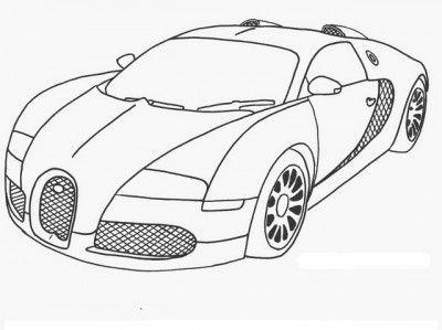 dibujos de coches deportivos para pintar