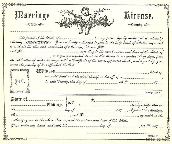43 best certificates and boarders images on Pinterest Family - marriage certificate template