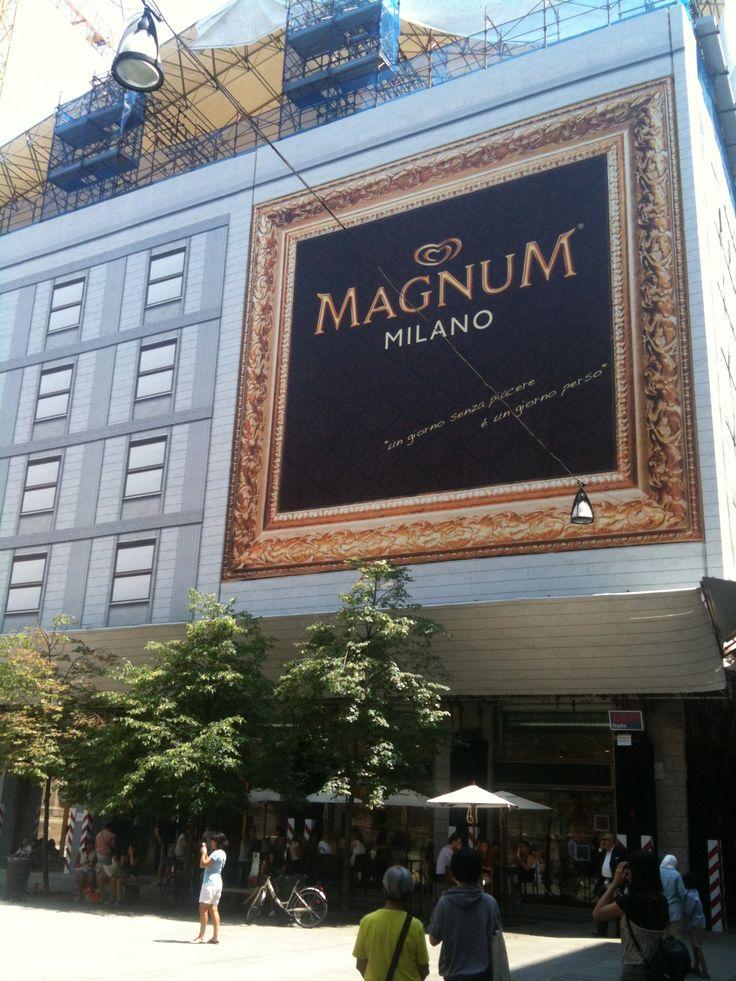 #Magnum Store in #Milano