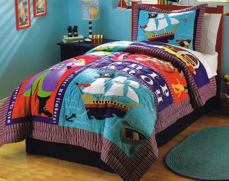 you wonu0027t walk the plank if you offer up this fun quilt set to