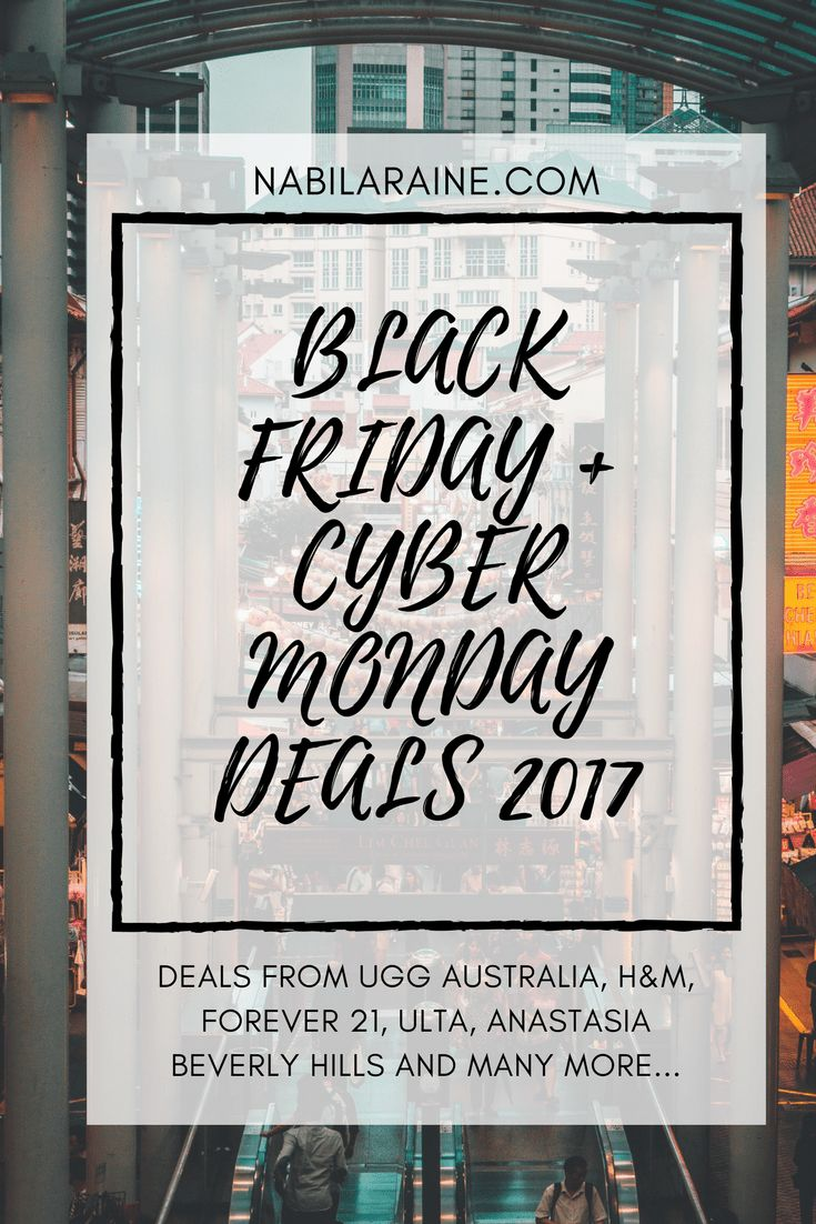 Black Friday Deals: Asos: 30% off with promo code EPIC30 at checkout.Sale ends Tuesday 11/28. H&M: 20% off of everything + free shipping.In-store & online
