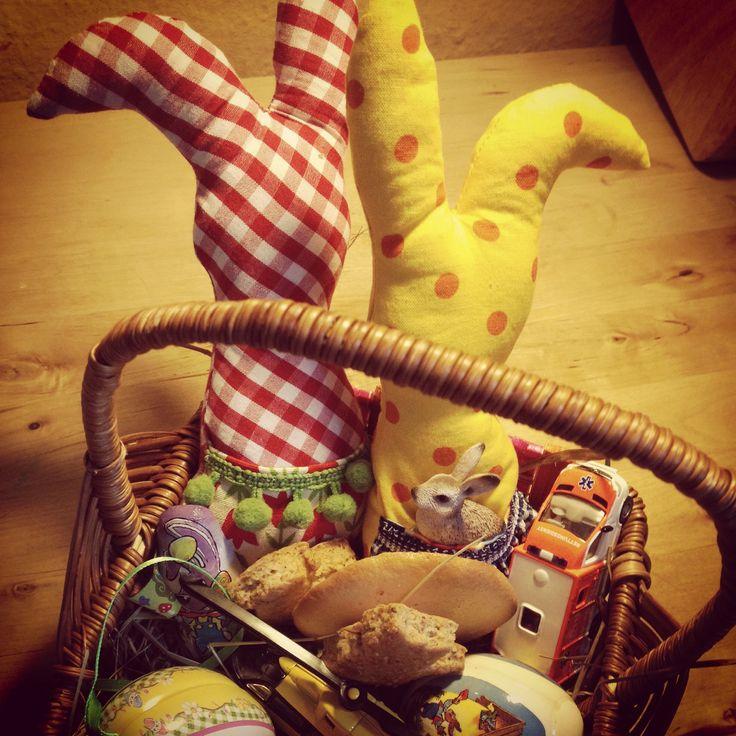Quick Easter bunnies.