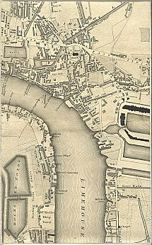 Greenwood's Map of London 1827