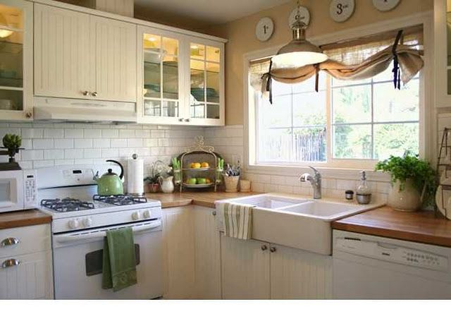 Butcher Block Counters White Kitchen : 22 best images about butcher block countertops on Pinterest Cabinets, Wood countertops and ...