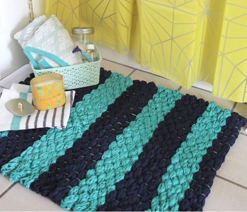 Best 25 Diy Bath Mats Ideas On Pinterest Recycled Mats