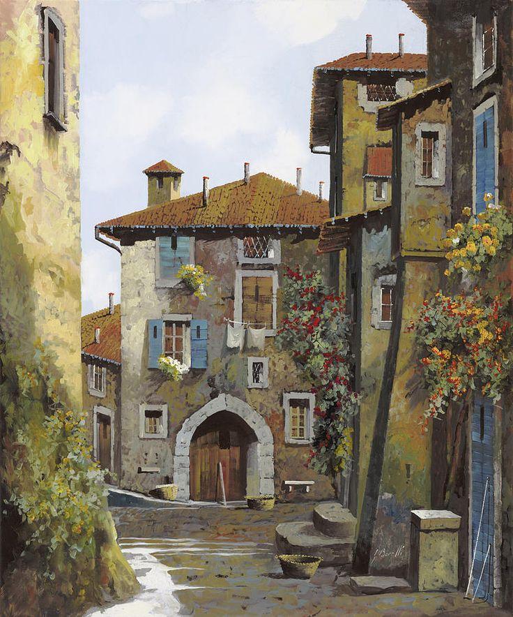 Umbria Painting Guido Borelli