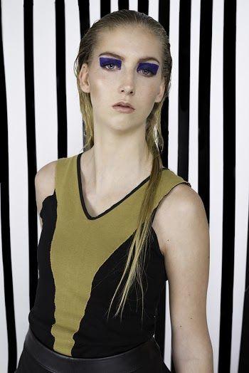 Clothes: Gabrielle Tamasciuk Photo: Magnus Haaland Make-up: Sarah Choucair Model: Caroline (Rebel Models)