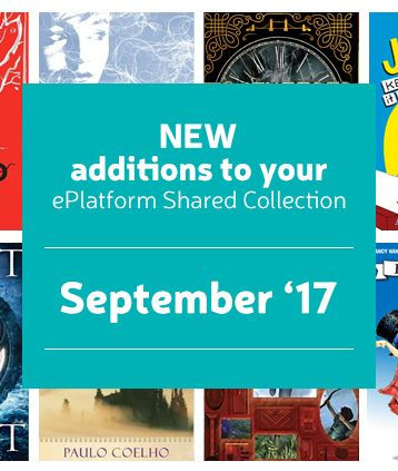 Dozens of wonderful new additions have been added to the e Platform Audiobook shared collections for September 2017.