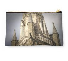 Gargoyles and the Steeple - Bendigo, Victoria Studio Pouch