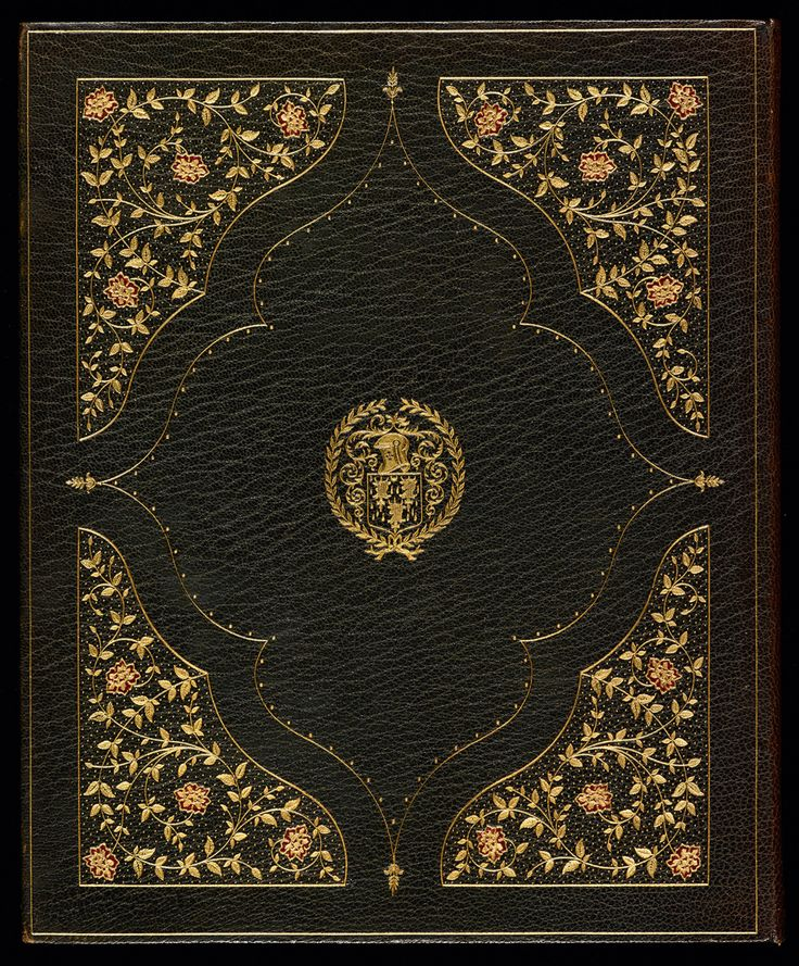Zaehnsdorf binding, 1914The eastern theme of Landor's Poems from the Arabic and Persian (1800) is reflected in this richly decorated goatskin binding by Zaehnsdorf of London. Stamped in the centre is the armorial of Alexander H. Turnbull.