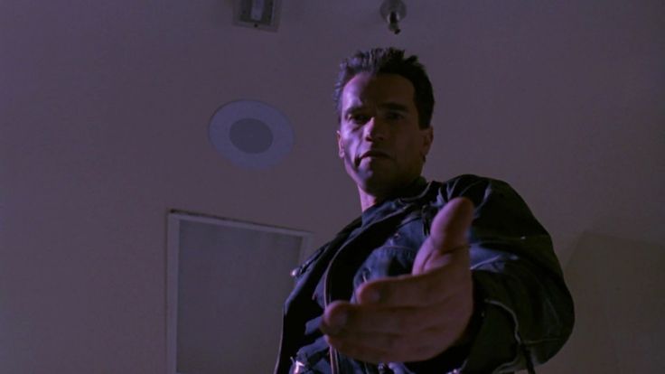 """Photo includes Arnold Schwarzenegger (The Terminator) issued from """"Terminator 2: Judgment Day"""" ( 1920 x 1080 )"""