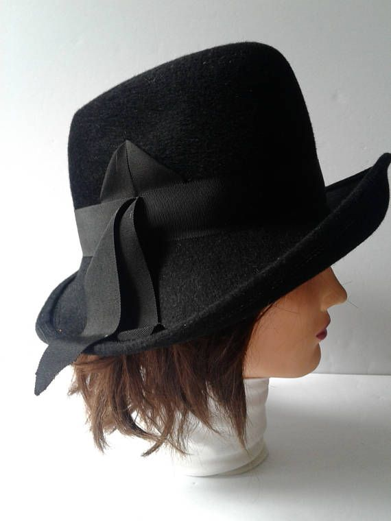 Women's Formal Hat from 1960s-1970s Vintage Hats Wedding