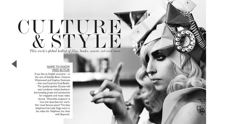 Love this hat & lady. From Net-A-Porter Magazine.
