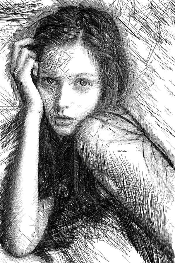 Love Me Tender Digital Art by Rafael Salazar