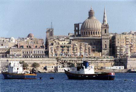 Malta-Valetta-sea