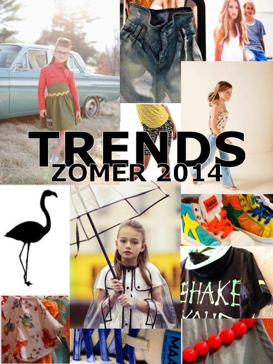 Trends kindermode zomer 2014 | kids fashion summer 2014