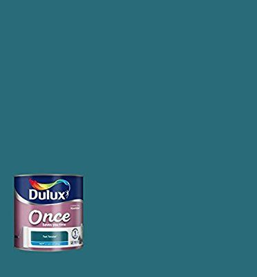 Dulux Once Matt Paint for Walls, 2.5 L - Teal Tension