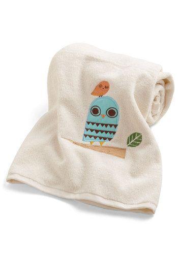 Owl Clean Bath Sheet, #ModCloth