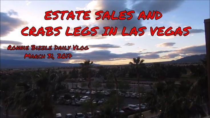 ESTATE SALES AND CRAB LEGS IN LAS VEGAS