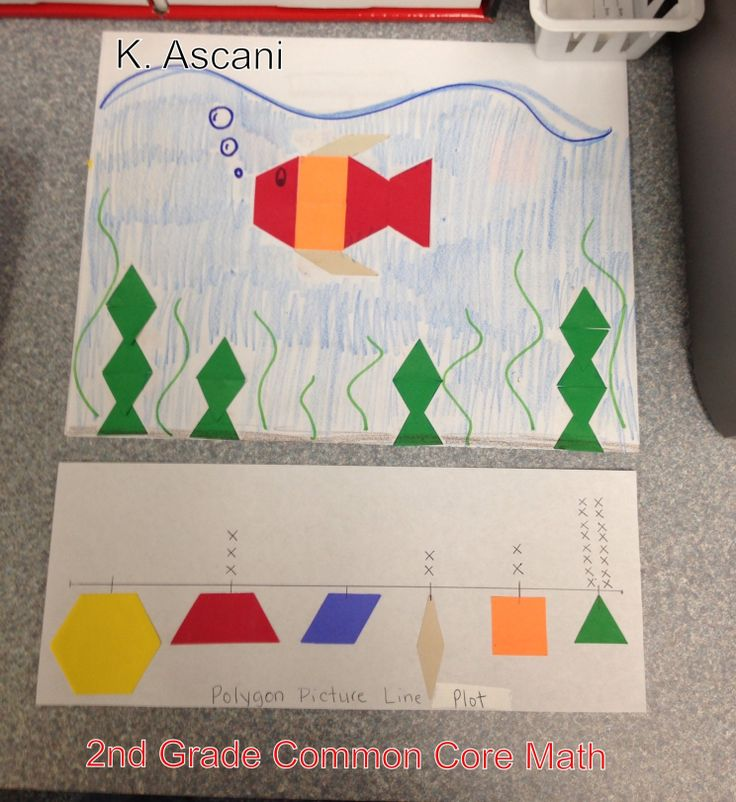 2nd Grade common core math: Geometry and Line Plots