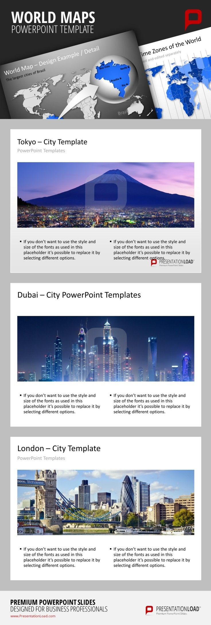56 best maps powerpoint templates images on pinterest cards powerpoint city templates there are city templates for every major city in the world like alramifo Choice Image
