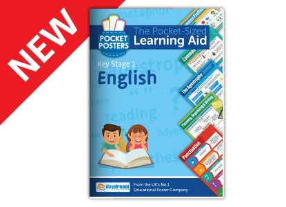 English Key Stage 2 Pocket Poster Learning Aid