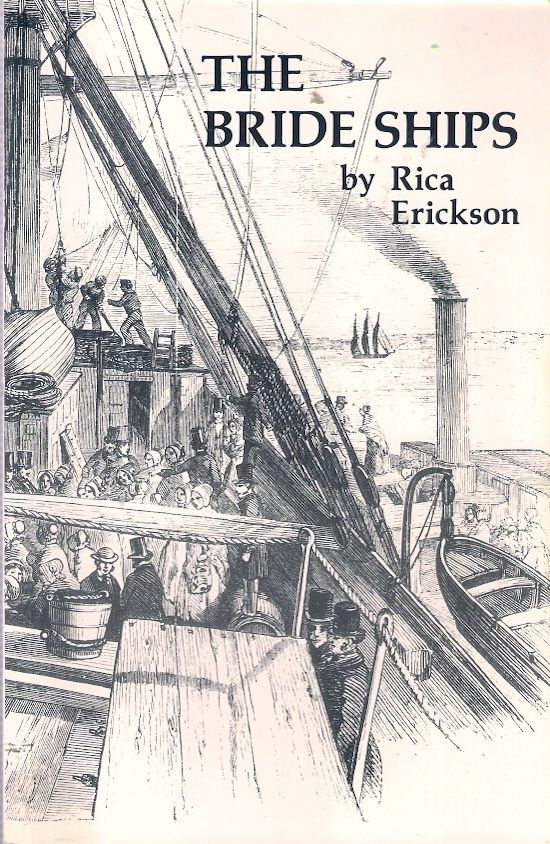 BRIDE SHIPS is the history of immigrants who came to Western Australia between 1849 and 1889 from the United Kingdom on the 'bride ships' carrying women who were brought out as servant girls to a colony overpopulated by men both free and bond. The history of immigration is traced both chronologically and through individual biographies.