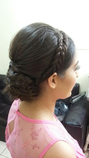 Braided updo ...Hairstyle