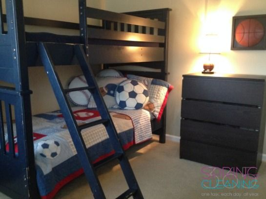 Spring Cleaning Your Kidu0027s Bedroom #springcleaning #kids