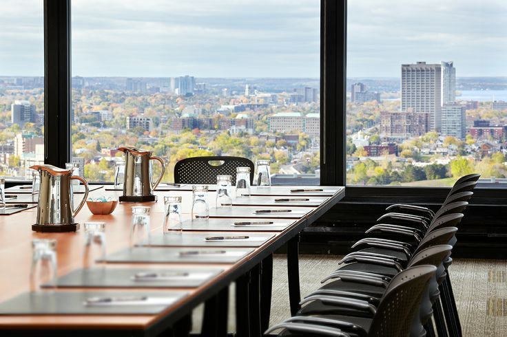Our Penthouse Meeting Room. With a great view, might I add! #Ottawa