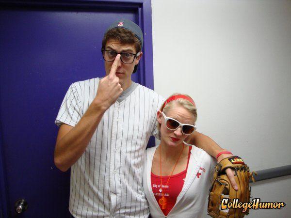 The Sandlot-Squints and Wendy Peffercorn Halloween costumes. BRILLIANT!
