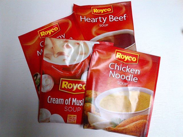 Having the winter blues? Then come to OK Grocer Danabaai for some tasty Royco soups. 044-698 1024