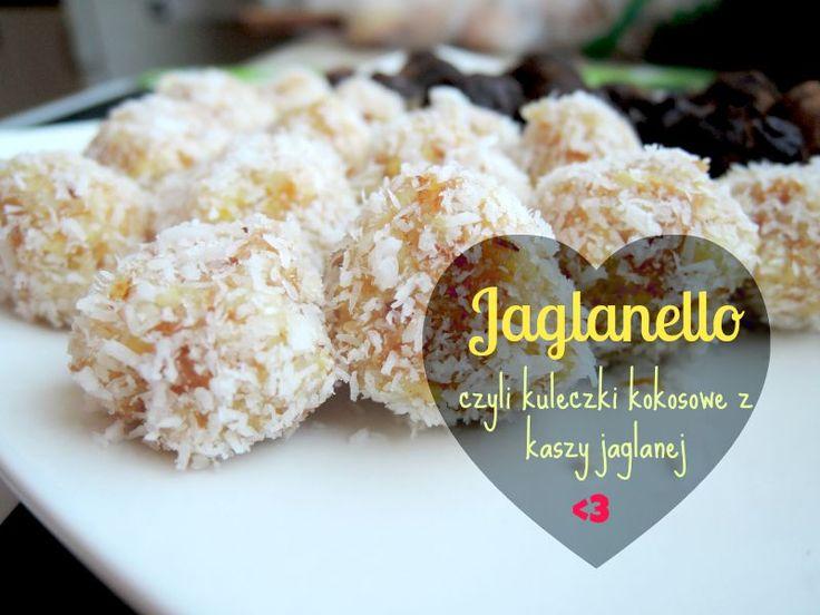 Fitblog. Odchudzanie, przepisy, motywacja.: Jaglanello Rafaello - najlepszy deser na świecie!