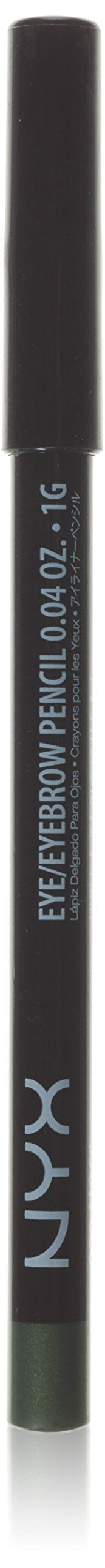 NYX Slim Eye Liner Pencil 929 Moss. NYX Cosmetics, Beauty Products, Cosmetic Products, For Lips and Eyes and Face.