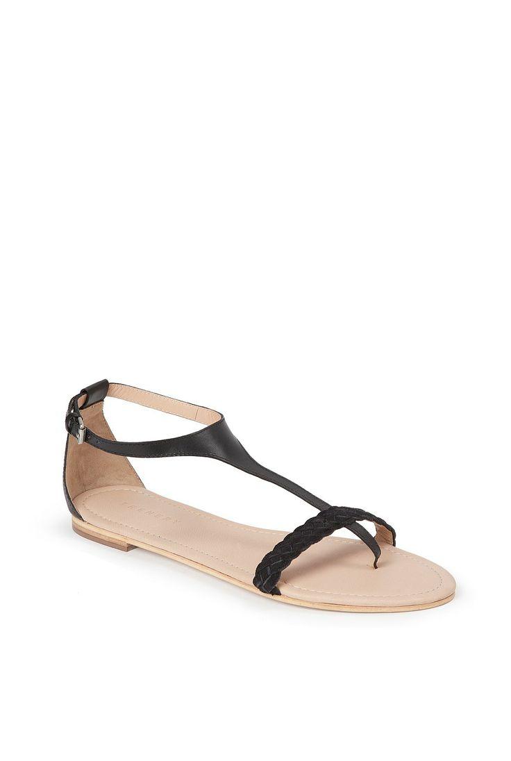 Trenery - Women's Shoes & Footwear Online - Contrast Plait Sandal