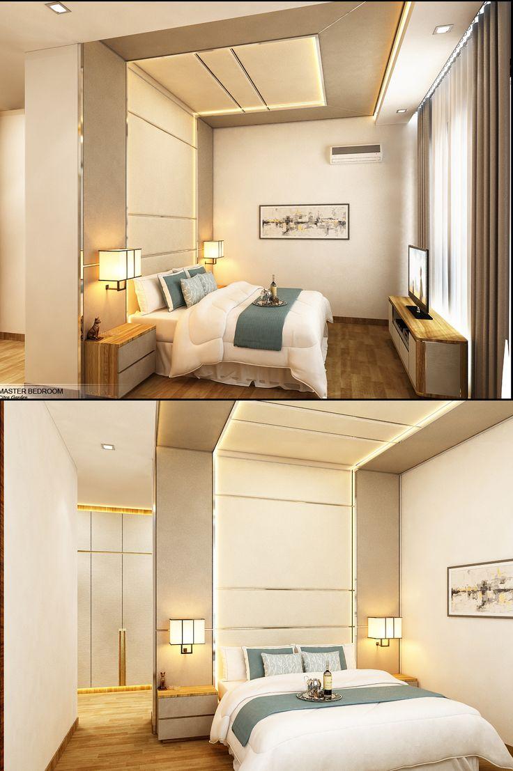 Master Bedroom D House Residential Medan, Sumatera Utara Indonesia